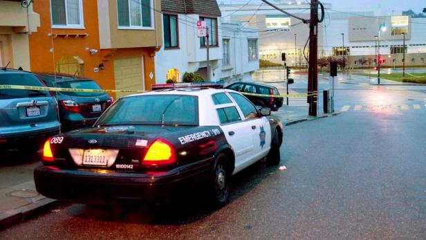 Polizei-Auto USA