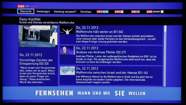 ORF TVthek als App