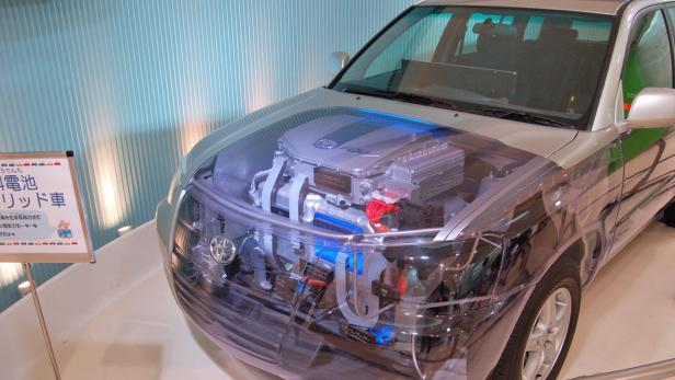Einblicke in einen Brennstoffzellen-Antrieb bei Toyota