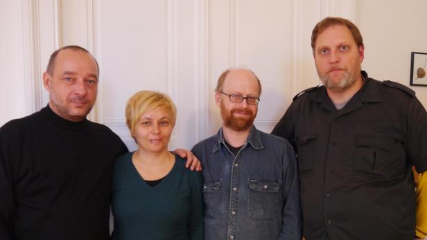 Blackbox-Veteranen: Michael Eisenriegler, Romana Cravos, Harald Havas und Gerin Trautenberger (v.l.n.r.)