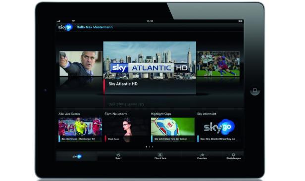 Die Sky Go App bringt Serien und Filme auf Tablet und Smartphone