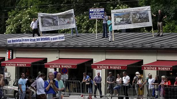 Bürgerproteste in Salzburg (2012)