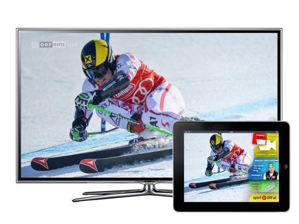 Second Screen - Zusatzinfos zum TV-Programm kommen auf das Tablet oder Smartphone