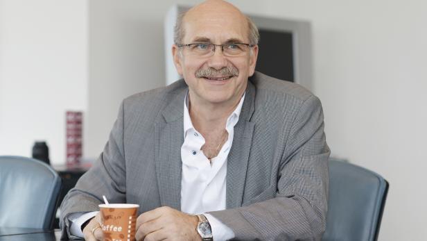 """Gerhard Ruiss von der Initiative """"Kunst hat Recht"""""""