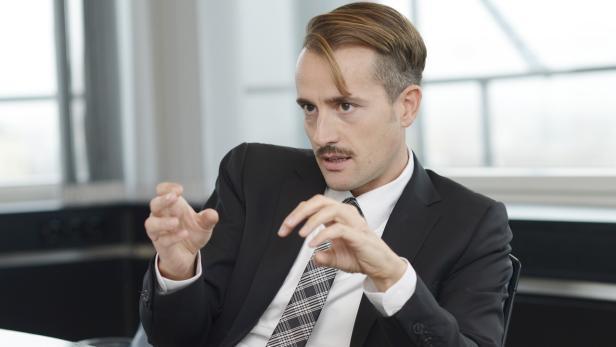 Der Anwalt Axel Anderl