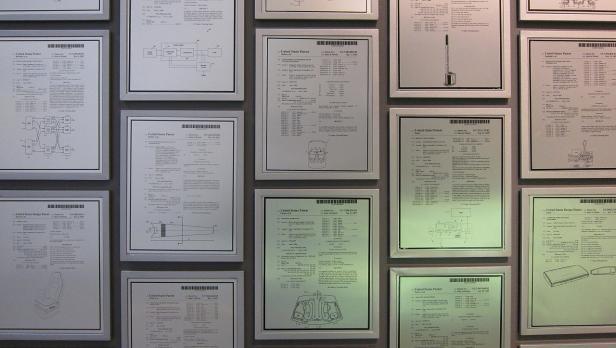Die Patentwand bei Bose fasst über 700 Patente