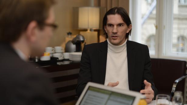 Peter Nussbaumer, Geschäftsführer und Gründer von I-New, im futurezone-Interview