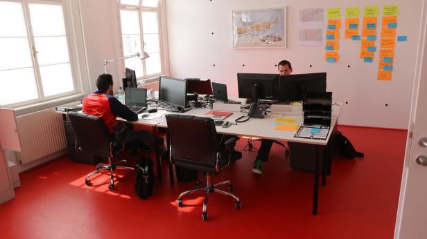 Die Start-ups erhalten von A1 Büros zur Verfügung gestellt