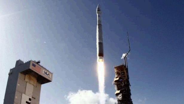 """""""Landsat""""-Satellit beim Start"""