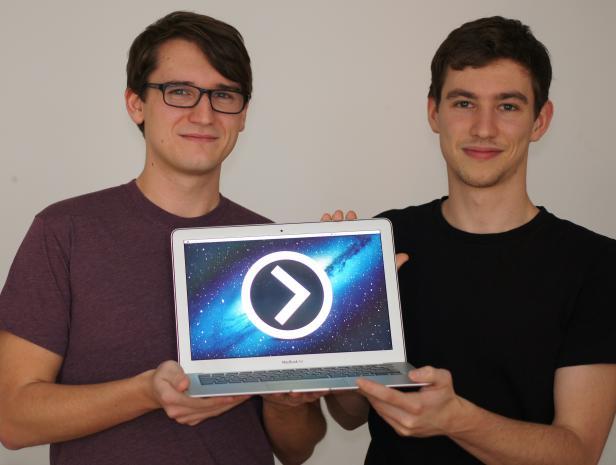SofaPlay wurde von den zwei TU-Studenten Gerald Voit und Fabian Pimminger entwickelt.