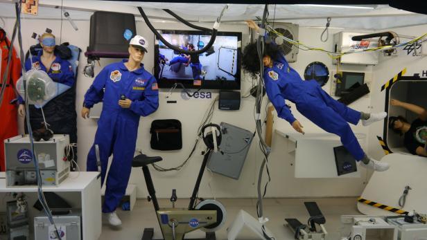 ISS: Weltraumstation als Sitcom
