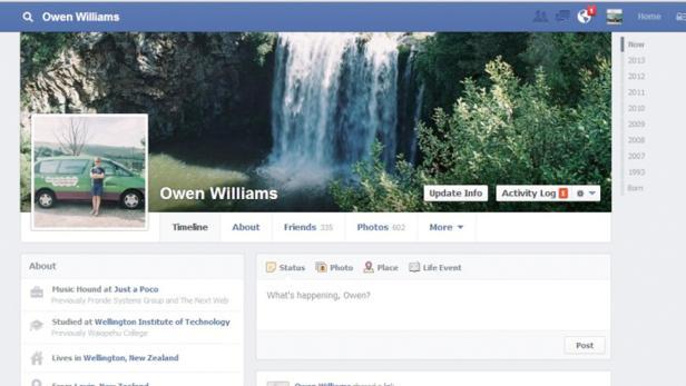 User in Neuseeland wurden testweise schon umgestellt (Screenshot: The Next Web)