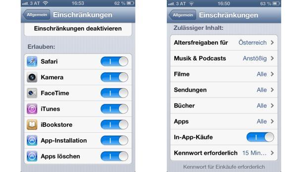 iPhone Parental Control