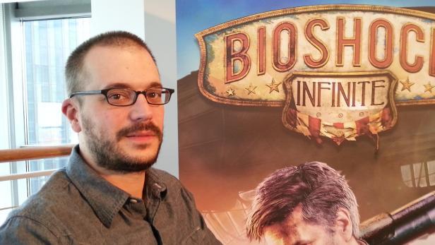 Shawn Robertson, Director of Animation bei Irrational Games. Irrational Games hat ua. System Shock 2, Bioshock 1 und Swat 4 entwickelt.