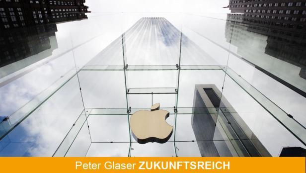 REUTERSThe Apple logo hangs in a glass enclosure above the 5th Ave Apple Store in New York, September 20, 2012.  Apples iPhone 5 goes on sale tomorrow. REUTERS/Lucas Jackson (UNITED STATES - Tags: BUSINESS SCIENCE TECHNOLOGY LOGO TPX IMAGES OF THE DAY)