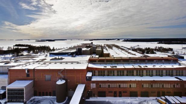 Das Google-Datenzentrum im finnischen Hamina.