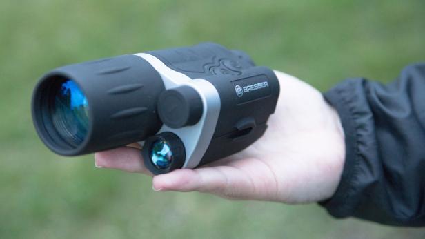 Test Bresser Entfernungsmesser : Fünf nachtsichtgeräte unter 400 euro im test futurezone.at