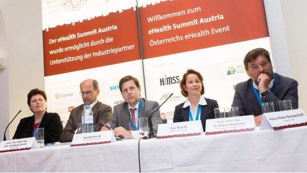 eHealth 2013 - Podiumsdiskussion: Big Data im Tagungszentum Schönbrunn, am 24.05.2013 | (c) eHealth Summit AT/Brunnbauer