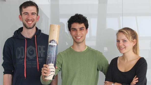 Harald Gesierich, João Cavaco und Carola Seyr