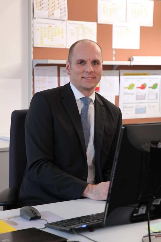 Robert Modliba, Leitung Produktion & Logistik