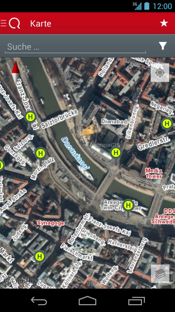 Wiener Linien Fahrplan App