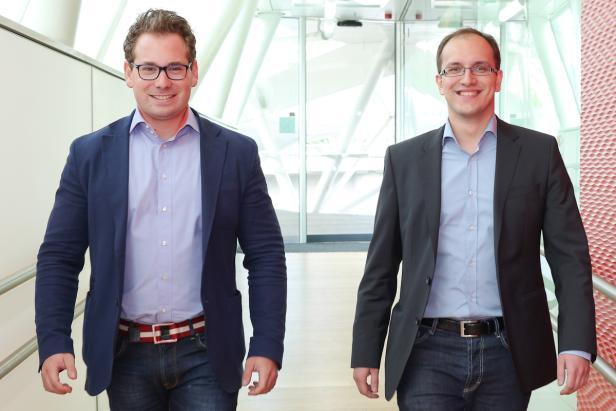 Benjamin Ruschin (l.) und Sead Ahmetovic (r.), Organisatoren von We Are Developers und Geschäftsführer von VIENNA DIGITAL