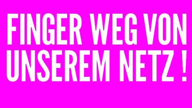 Slogan des Netzpolitischen Konvents