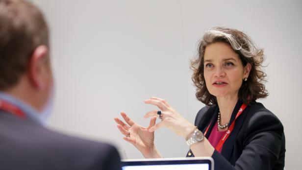 Claudia Nemat von der Deutschen Telekom im Gespräch mit der futurezone