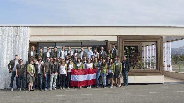 Das Siegerteam aus Experten der TU Wien, der Fachhochschulen St. Pölten und Salzburg sowie des AIT