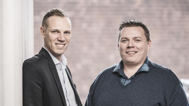 appers-Gründer: Thomas Kriebernegg (Bild links) und Christian Janesch