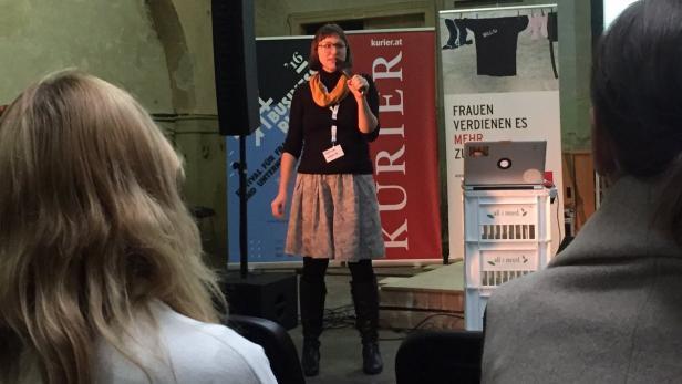 Stefanie Wuschitz hat auch beim Business Riot Festival über das Lab für Frauen gesprochen