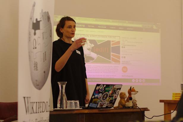 Claudia Garad von Wikimedia Österreich