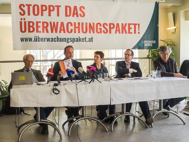 Am Dienstag wurde die Kampagne präsentiert, mit der einige Organisationen rund um epicenter.works das geplante Überwachungspaket von Wolfgang Sobotka stoppen wollen