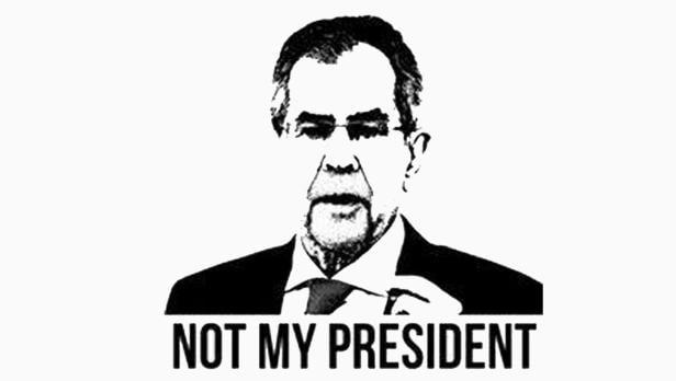 Not my President Van der Bellen