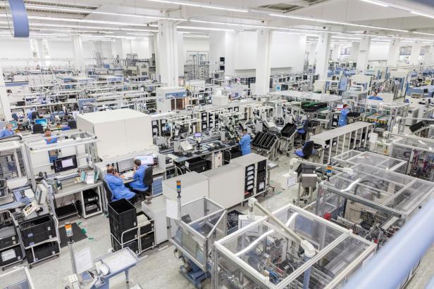 Siemens Digitale Fertigung Amberg