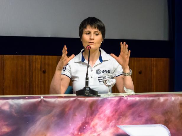 Die Astronautin bei der Yuris Night in Wien