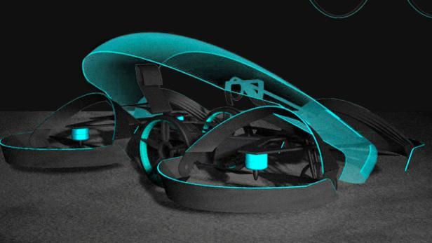 Konzept des Skydrive-Autos