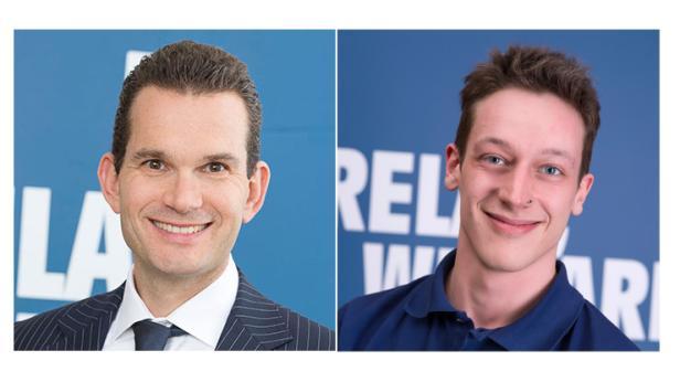 Alexander Albler und Thomas Fellinger von NTS