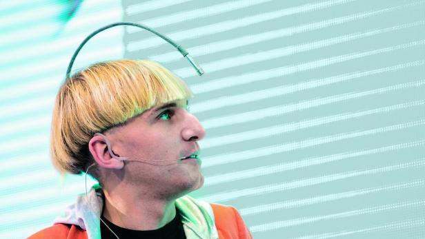 Cyborg: Neil Harbisson