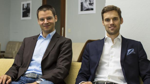 Luke Roberts-Gründer: Lukas Pilat und Robert Kopka (rechts)