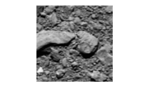 Das letzte Bild von Rosetta