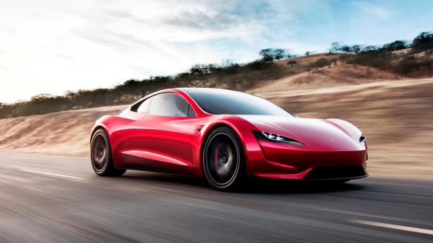 Tesla Roadster 2 is shown in this undated handout
