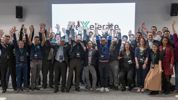 Teilnehmer der ersten Runde des weXelerate-Programms