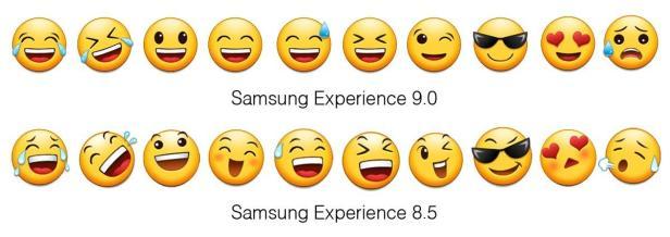 Neue Samsung Emojis