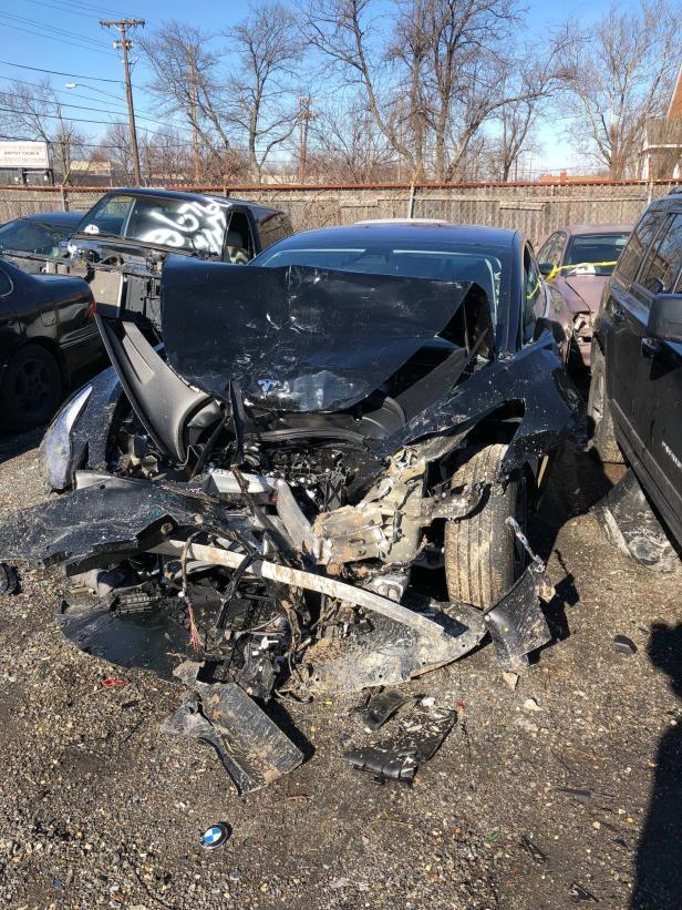 Tesla Model 3 Totalschaden