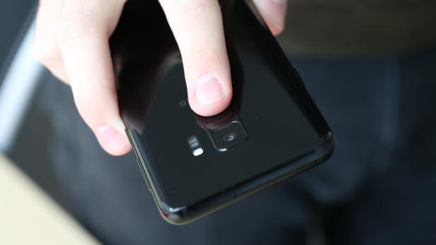 Fingerabdrucksensor von Samsung Galaxy S9