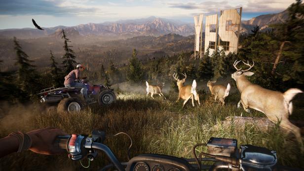 Far Cry 5: Erstes Live-Event lässt euch Tiere grillen