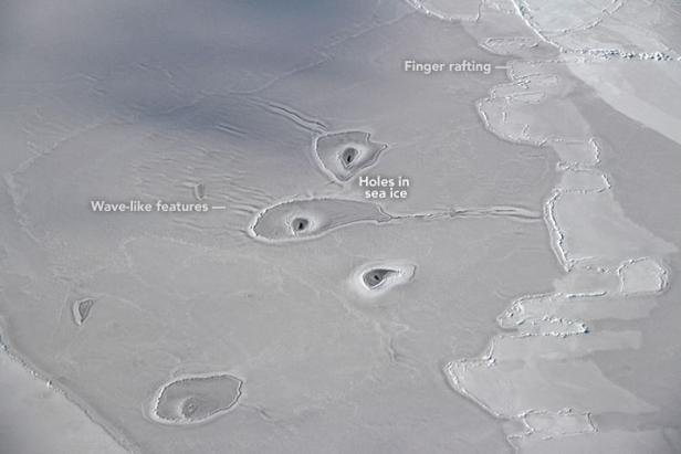NASA rätselt über mysteriöse Entdeckung in der Arktis
