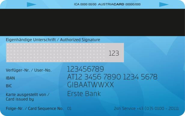 Cvv Ec Karte Sparkasse.Erste Bank Begräbt Die Maestro Karte Futurezone At