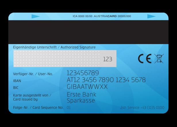 Wo Steht Meine Kartennummer.Aus Fur Maestro Bankomatkarte Erste Bank Bringt Neue Debit